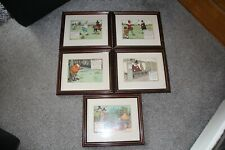 New listing COLLECTION OF VINTAGE CHARLES CROMBIE PRINTS             REF1