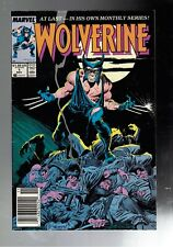 Wolverine #1 5.0 VG/FN First Ongoing Series Newsstand Edition
