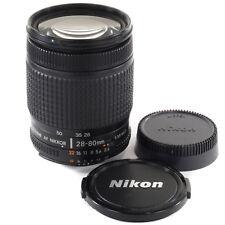 Nikon Nikkor 28-80 mm D pour D300 D3 D700 D50 D1 D80 D2 D100 D90 D600 D800 F5 D810