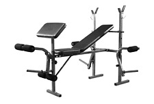 Home Weights Bench Home Multi Gym Fitness Training Benches Leg Exercise Weights