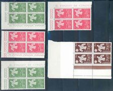 Europa 1961 Corner Blocks Of Four Mint Nh As Shown