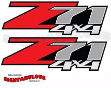 2 Z71 Off Road 4x4 sticker decal Chevy Silverado GMC Sierra Colorado trucK C5