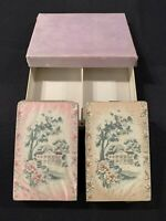 Vintage USIR W.P.L. Co Playing Cards 2 Decks With SEALED Tax Stamps