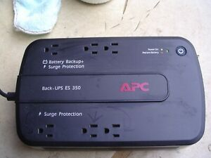 APC BACK-UPS ES 350 Surge Protector and Battery Backup