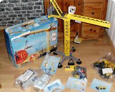 PLAYMOBIL: -5466 Baukran Fernsteuerung - -Neuwertig-Container- Riesen Baustelle!