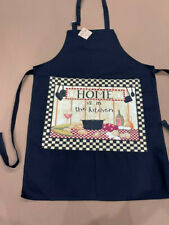 Black Women Kitchen Washable Adult Chef Bbq Cooking Baking Party Aprons