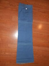 Original 60s Hippie Pentimento Blue Jean Denim Pants Womens 9 Flare Bell bottoms