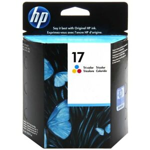 Original HP 17 color C6625A DeskJet 825 840 841 842 845 ----------- OVP 06/2019