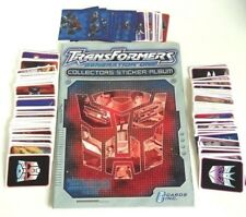 Transformers Generation One Empty Sticker Album With Complete Loose Sticker Set