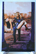 Wonder Woman '77 Meets the Bionic Woman #5 Variant 1:10 Virgin Cover DC Comics