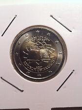 2 EURO AUTRICHE 2007 TRAITE DE ROME TDR COMMEMORATIVE NEUVE