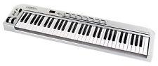 61 TASTEN MIDI KEYBOARD CONTROLLER HOME STUDIO MASTERKEYBOARD PC MAC iPAD USB