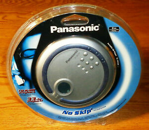 New Panasonic SL-SX320 Personal Audio CD Player with Headphones