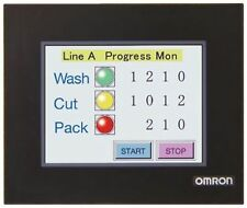 "OMRON imballaggio impermeabile per HMI Display NV Serie 4.6"" Screen Protector PLC"