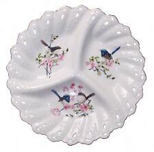 New Australia Bird Blue Wren Platter Snack Plate Boxed Mother's Day Gift