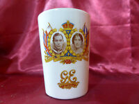 Vintage King George VI Queen Elizabeth Coronation 1937 CUP Northumberland Royal