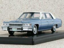 CADILLAC DeVille Sedan - 1977 - blue - Premium X 1:43