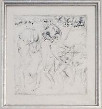 """Pierre Bonnard Litho """"Les Pastorales, ou Daphnis et Chloé 14"""", 7 x 6.5, PA5816"""