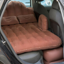 Car Inflatable Mattress Camping Air Bed Back Seat Extended Couch Two Pillows