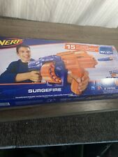 NERF N-strike Elite Surgefire Blaster Rotating Drum Damaged Box