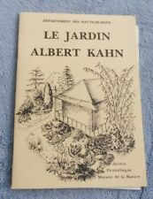 Le Jardin Albert Kahn Département des Hauts-de-Seine régionalisme nature flore