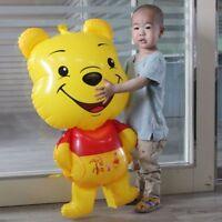 Cute Giant Winnie The Pooh Foil Balloon Cartoon Kids Birthday Party Supplies