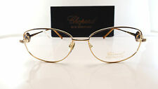 Chopard vch579s 23kt GP OCCHIALI EYEGLASS Frame Goggles Lunettes de vue NUOVO NEW