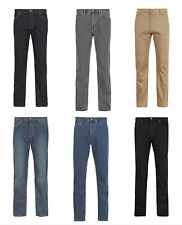 Mens New M&S Regular Fit Straight Stretch Jeans with Storm Wear (SECONDS) MS37