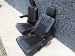 2020 OEM take out Black Leather Bucket Seats New Jeep Hotrod