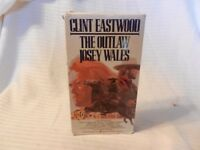 The Outlaw Josey Wales (VHS, 1990, Spanish Subtitled) Clint Eastwood