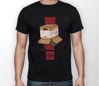 Metal Gear Solid Think Inside Box Snake MGS Unisex Tshirt T-Shirt Tee ALL SIZES