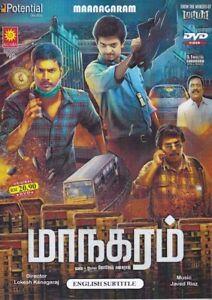 Maanagaram Tamil DVD Latest Tamil Movie NTSC with English Subtitles