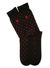 Alexander McQueen Socks - BNWT Skull Polka-Dot Jacquard Socks RRP: £65.00