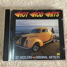 Hot Rod Hits _ 22 Sizzlers Original Artists CD _ J&B -JB405CD (Australia) _Good+