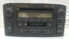 2005 TOYOTA AVENSIS MK2 T25 RADIO CD CASSETTE PLAYER W53905 / 86120-05071