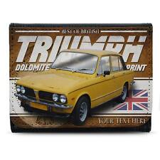 Personalised Triumph Dolomite Sprint Wallet Classic Car Men Dad Gift CL49