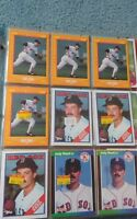 Jody Reed Baseball Card Mixed Lot approx 363 cards