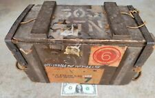 Original .303 British Enfield Ammo Ammunition Box Crate mark 7