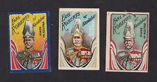 Ancienne  étiquette  allumettes Autriche BN110046 Homme Earl Roberts