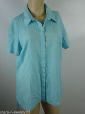 Evans Patternless Classic Collar Tops & Shirts for Women