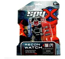 SpyX 8 in 1 Recon Spy Watch Wearable Gadget With All A Spy's Essentials For Day