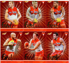 2016 Select AFL Footy Stars Trading Card Excel Silver Team Set(12)--Sydney