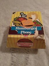 Vintage Corded Hamburger Phone Model No. AR - 6900 in Box Carton