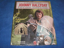JOHNNY HALLYDAY FLAGRANT DELIT COLLECTION OFFICIELLE CD COLLECTOR + LIVRET NEUF