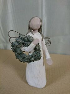 "Willow Tree ""ANGEL OF WINTER"" figurine. By Demdaco / Susan Lordi 2001. Unboxed."