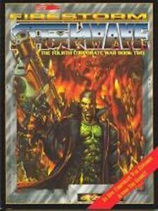 CYBERPUNK RPG FIRESTORM SHOCKWAVE WAR BOOK BRAND NEW