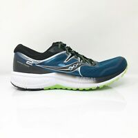 Saucony Mens Omni ISO 2 S20511-1 Black Blue Running Shoes Lace Up Size 11