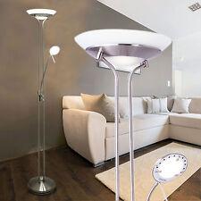 Lámpara de pie con 2 luces Luz LED estándar Lectura estilo