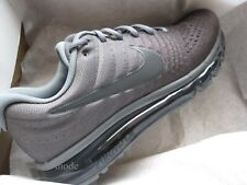 Nike Air Max 2017 (men's) ___ Size 10 ___ Last 1, 849559 008, cool grey, running