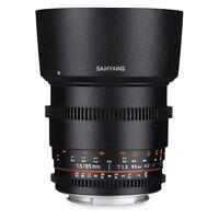 Lens Samyang 85mm T1.5 AS IF UMC VDSLR for Pentax K-1,K-3,K-70,K-50 etc. SALE